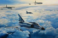 """El 31 de Mayo de 1982 se realizó el único ataque conjunto de la guerra (Armada-Fuerza Aérea). Dos Super Etendard (Ala) pilotados por CC Francisco y el TN Collavino. y cuatro Douglas A-4C (Zonda) volados por el Alf. Isaac, 1er Tte. Vázquez (FEC), 1er Tte. Castillo (FEC) y 1er Tte. Ureta. Uno de los """" Ala"""" lanzó el ultimo AM-39 Exocet que tenían durante el conflicto. Los """"Zonda"""" siguiendo la estela del misil ubican al enemigo. Castillo y Vázquez son derribados e Isaac y Ureta llegan al blanco."""