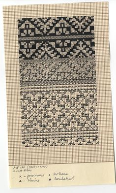 Eesti muuseumide veebivärav - N. Knitted Mittens Pattern, Knit Mittens, Knitting Socks, Hand Knitting, Knitting Charts, Knitting Stitches, Knitting Designs, Knitting Patterns, Fair Isle Chart