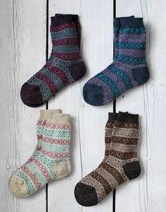 c81844312c1 Ladies Fair Isle Socks | Ladies Socks Bed Socks, Sock Shop, Fair Isle  Pattern