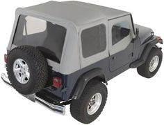 Rampage Complete Soft Top <br/>for 87-95 Jeep YJ with Clear Windows   4WheelOnline.com
