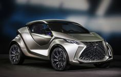 Lexus builds a moon buggy for the city