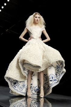 Alexandra Tretter for Christian Dior Haute Couture Spring 2009