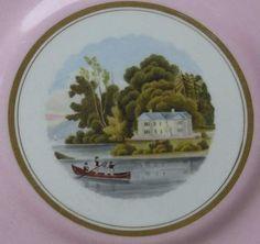Rare Worcester Flight Barr Barr Irish View Plate | eBay
