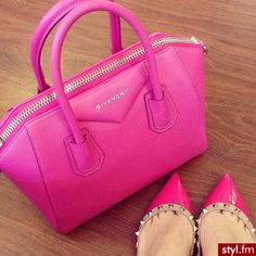 I don't like the shoes but love the purse