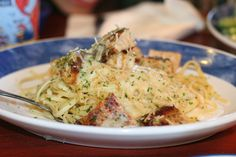 Cajun Chicken Linguini Alfredo from Red Lobster - My Fav!!!!