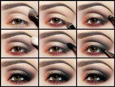 Макияж для маленьких глаз дневной и вечерний: фото, видео, техника
