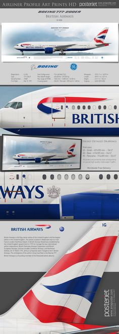 Boeing 777-200ER British Airways G-VIIG