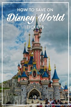 Disney World is a dream vacation for many families, but the tickets can be expensive. Here's how to snag a great deal for your Disney vacation. Buy Disney World Tickets, Disneyland Tickets, Disney World Vacation, Disney Vacations, Disney Travel, Disney World Tips And Tricks, Disney Tips, Disney Parks, Disney Stuff