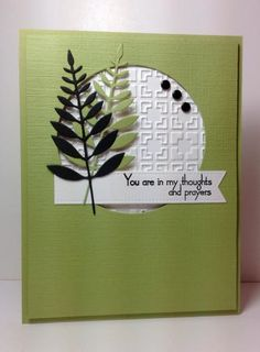 WT520 Thoughts and Prayers by beesmom - Cards and Paper Crafts at Splitcoaststampers