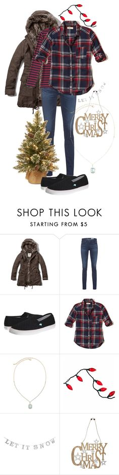"""""""Cold Weather Fashion"""" by underwater-city ❤ liked on Polyvore featuring Abercrombie & Fitch, AG Adriano Goldschmied, Garcia, Roxy, Hollister Co., Vieste Rosa and M&Co"""
