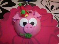 Feestvarken taart