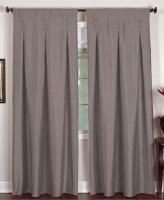 "Elrene Window Treatments, Imperial 26"" x 84"" Panel - Curtains & Drapes - for the home - Macy's"