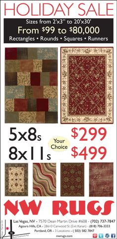 Savings to be had in Las Vegas this weekend. #rug #sale