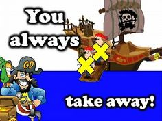 When You Subtract With a Pirate (math song for kids) This is a great video for Kindergarten and 1st grade!  Builds the concept of Subtraction in a fun way! Arrrrrrr!