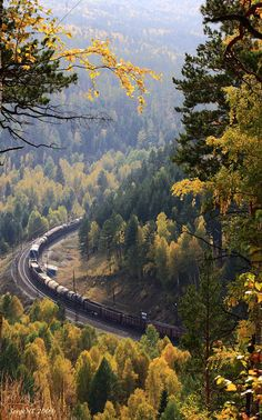 The Trans-Siberian Railway, Russia Places To Travel, Places To See, Trains, Trans Siberian Railway, Train Journey, Beautiful Places In The World, Landscape Photography, Travel Inspiration, Scenery