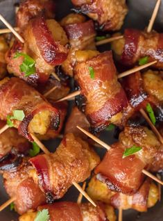 You should make a triple batch of these SWEET & SPICY BACON WRAPPED TATER TOTS because they're always gone in seconds! Spices and and little sweetness make this easy appetizer a favorite for the holidays and tailgating. SO ADDICTING.