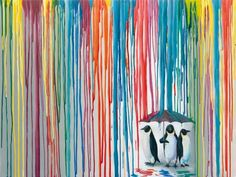 """Right as Rain"" by Michael Summers. (SOLD OUT!!) www.ecgallery.com"
