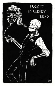 All things Skulduggery Pleasant We All Mad Here, Skulduggery Pleasant, Art Et Design, Skeleton Art, Funny Skeleton, Skeleton Drawings, Psy Art, Skull Art, Macabre