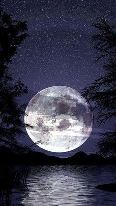 paisajes con lunas