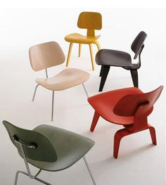 Eames / Herman Miller chairs