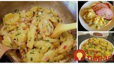 To je nápad! Slovak Recipes, Kitchen Hacks, Potato Recipes, Pasta Salad, Ham, Potato Salad, Good Food, Food And Drink, Menu