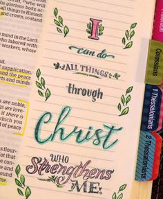 Philippians 4:13  http://melissagross.blogspot.com/2016/10/5-places-to-find-inspiration-for.html