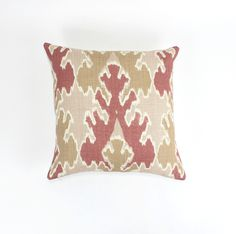 ON SALE Kelly Wearstler Bengal Bazaar Pillows in Apricot 18 X 18