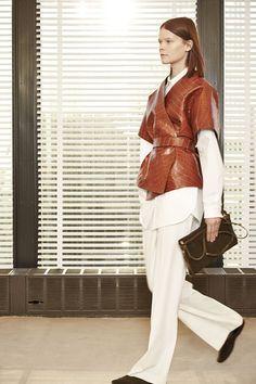 The Row at New York Fashion Week Fall 2015 | Stylebistro.com