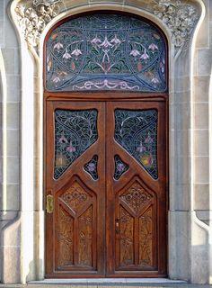 walzerjahrhundert:  Art Nouveau Doors in Budapest, Hamburg, Bruxelles, Barcelona, Riga and Vienna