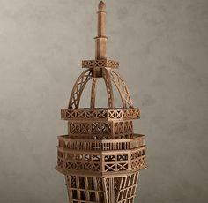 Eiffel Tower Architectural Study ModelRestoration Hardware.