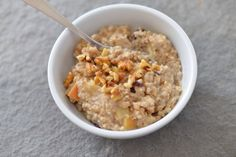 Oats of the week - peach walnut