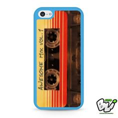 Awesome Mix Vol No 1 Guardians Of The Galaxy iPhone 5C Case