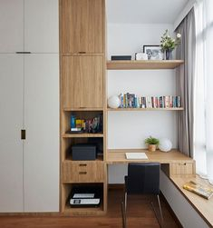 Carpenters Interior Design singapore BTO Design HDB Resale Design Condominium D… – Furniture and Door Decoration Home Room Design, Kids Room Design, Home Office Design, Home Office Decor, Home Decor, Bedroom Cupboard Designs, Wardrobe Design Bedroom, Bedroom Decor, Study Table Designs
