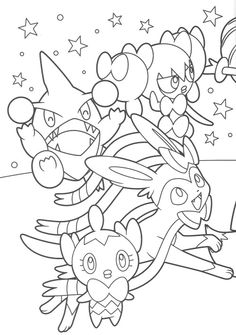 pokemon thanksgiving coloring pages - pikachu and eevee friends coloring book end anime