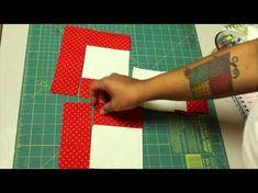 Patchwork: Cuadros y triángulos - www.trozicos.com - YouTube
