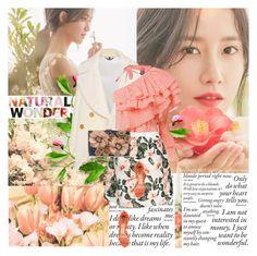 """Yoona"" by mirmin ❤ liked on Polyvore featuring Innisfree, Burberry, Rosie Assoulin, Sondra Roberts, Paula Cademartori, kpop, Snsd, GirlsGeneration, smtown and yoona"