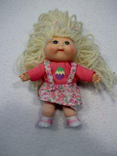 "1996 Mattel Mini Cabbage Patch doll 5"" Xavier Roberts 3"
