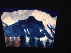 "Emil Nolde ""The Alps 1935"" German Danish Expressionist Die Brucke Art 35mm Slide"