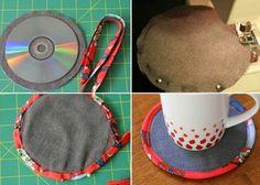 Cómo transformar CDs en posavasos | Aprender manualidades es facilisimo.com