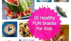 10 Irresistibly Fun Snacks For Active Kids