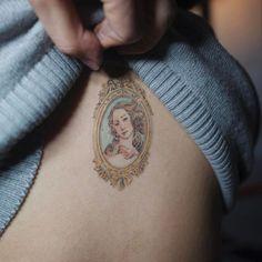 Healed 3 months . <비너스의 탄생(The Birth of Venus)> . #soltattoo#솔타투#발색샷