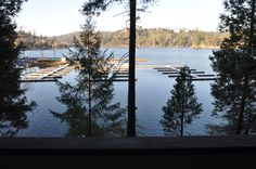 Pine Mountain Lake (Groveland, California 95321) LAKEFRONT vacation rental #CABIN ON THE LAKE, unit 15 lot 118, is just 26-miles to the N. entrance of #Yosemite National Park. For master calendar & online booking: http://www.yosemiteregionresorts.com/115585.htm.  #California #LakeFront #LakeView #WaterFront #Marina #CabinOnTheLake #YosemiteCabin #LakeHouseVacation #LakeVacation #Holiday