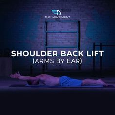 DO YOU WANT TO STRENGTHEN YOUR POSTERIOR DELTOID, RAPEZIUS, TERES MAJOR/MINOR, AND RHOMBOIDS? Try this exercise!  TODAY'S CHALLENGE:  Shoulder Back Lift (Arms by Ear) Reps: 3 rounds x 10 repetitions  Interested in continuing to build stronger, mobile, healthier and pain-free shoulders?  Then shoulder back lifts is an awesome workout for you! Back Lift, Calisthenics, Athlete, Exercises, Arms, Challenges, Strong, Workout, Shoulder