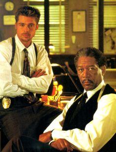 Brad Pitt & Morgan Freeman