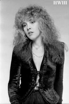 a lovely photo of Stevie ~ ☆♥❤♥☆ ~ wearing her velvet Tusk jacket; photo taken by her friend and music celebrity friend, Herbert W. Worthington 111