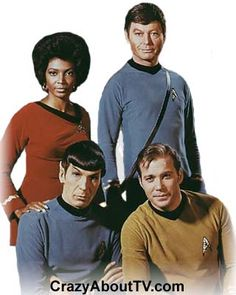"""Star Trek"" ~ William Shatner, Leonard Nimoy, DeForest Kelley 1966-1969"