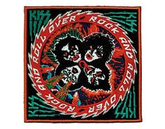 Kiss Rock 'n' Roll Over - Official Patch