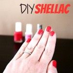 DIY Shellac...this really works!!! And you can use all your favorite nail polish colors. Cheaper than a nail salon and sets fast!