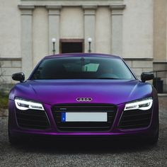 Purple R8 • Follow @StickerCity • • Restyle your vehicle • • With a high quality custom wrap • • www.stickercity.com • _____________________________ • Photo by: @aaltomotive