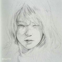 26 Pencil Sketches of Faces Pencil Sketches Of Faces, Drawing Sketches, Art Drawings, Human Drawing, Human Art, Face Sketch, Portrait Sketches, Portraits, Amazing Drawings